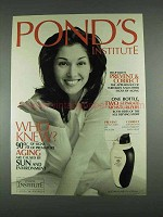1996 Pond's Prevent & Correct Lotion Ad - Who Knew?