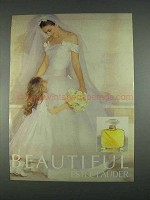 1996 Estee Lauder Beautiful Perfume Ad
