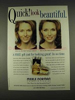 1996 Merle Norman Luxiva Ultra Powder Foundation Ad