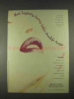 1996 Mary Kay Signature Color Moisturizing Lipstick Ad