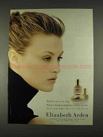 1996 Elizabeth Arden Makeup Ad - Flawless in Every Way