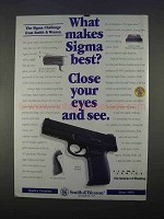 1996 Smith & Wesson Sigma SW40F Pistol Ad