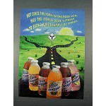 1996 Diet Snapple Juice and Iced Tea Ad - Pure Example