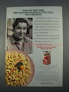 1996 Ro-Tel Diced Tomatoes and Green Chilies Ad - Wife Away