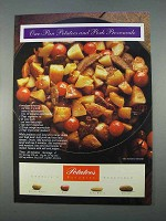 1996 Potato Board Ad - One-Pan Pork Provencale