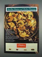 1996 Potato Board Ad - One-Pan Chicken Rosemary
