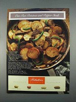 1996 Potato Board Ad - One Pan Pepper Steak