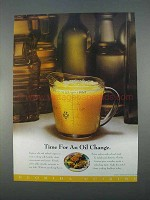 1996 Florida Department of Citrus Ad - An Oil Change