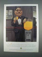 1996 Florida Department of Citrus Ad - Drinking Enough?