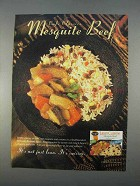 1996 Stouffer's Lean Cuisine Mesquite Beef Ad
