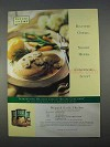 1996 Healthy Choice Recipe Creations Soup Ad