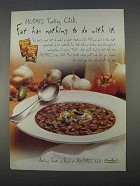 1996 Hormel Turkey Chili Ad - Fat Has Nothing to Do