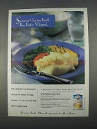 1996 Swanson Chicken Broth Ad - Mashed Potatoes