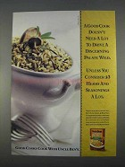 1996 Uncle Ben's Long Grain & Wild Rice Ad