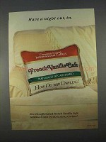 1996 General Foods International Coffees Ad - Night Out