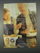 1996 Post Honey Bunches of Oats Cereal Ad - Delicious