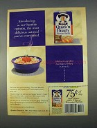 1996 Quaker Quick 'n Hearty Microwave Oatmeal Ad