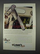1996 Lowe's Price Pfister Faucet Ad - Preference
