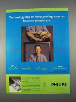 1996 Philips TV Ad - Technology Keep Getting Smarter