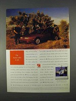 1996 Saturn SL2 Car Ad - The Fastest Color is Red
