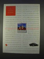 1996 Saturn SL2 Car Ad - I Married a Car Salesman