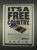 1996 Mopar Parts Ad - It's a Free Country