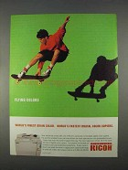 1996 Ricoh Digital Color Copiers Ad - Flying Colors