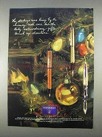 1996 Waterman Pens Ad - The Stockings Were Hung