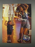1996 Walt Disney Records Ad - Share the Music