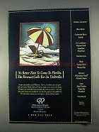 1996 DoubleTree Hotels Ad - No Better Time Florida
