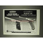 1996 Stoeger Pro Series 95, Luger American Eagle Gun Ad