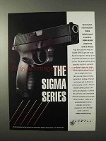 1995 Smith & Wesson Sigma Series Pistol Ad