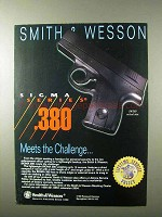 1995 Smith & Wesson SW380 Pistol Ad - Sigma Series