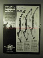 1995 Darton Action Series Bows Ad - Performance