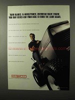 1995 Craftsman Riding Lawn Mower Ad - Twin Blades