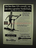 1995 NordicTrack Challenger Exercise Machine Ad