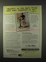 1995 NordicTrack WalkFit Exercise Machine Ad