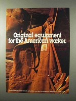 1995 Carhartt Clothing Ad - The American Worker