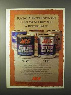 1995 Ace 7-Star Paint Ad - Better Paint