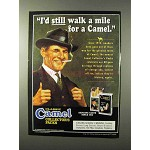 1995 Camel Cigarettes Classic Collector's Packs Ad