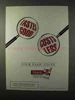 1995 Basic Cigarettes Ad - Your Basic Clues