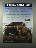 1995 Chevy S-Series ZR2 Extended-Cab Truck Ad