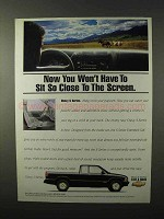 1995 Chevy S-Series Pickup Truck Ad - Sit So Close