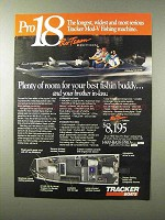 1995 Bass Tracker Pro 18 Pro-Team Edition Boat Ad