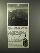 1995 Jack Daniel's Whiskey Ad - A Wisp of Smoke