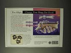 1995 Burris Pos-Align Ring Mounts Ad - Change for Good