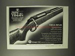 1995 Sako Tikka Rifles Ad - New Standard of Excellence