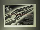 1995 Sako Tikka Rifles and Shotguns Ad - New Standard
