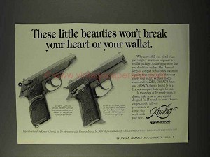 1995 Daewoo DP52 and DP51C Pistols Ad - Beauties