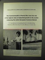 1964 Commonwealth of Puerto Rico Ad - Industrial Growth